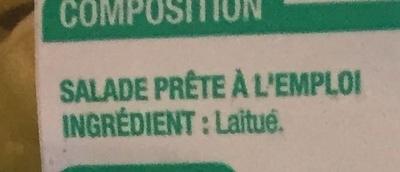 Coeurs de Laitue (Maxi Format) - Ingredients - fr