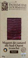 Magret de canard du Sud-Ouest tranché fumé au bois de hêtre - Product - fr