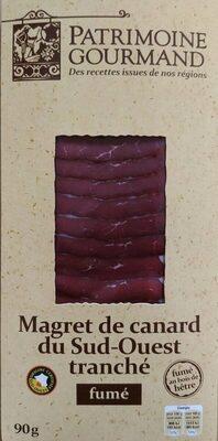 Magret de canard du Sud-Ouest tranché fumé au bois de hêtre - Product