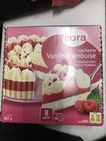 Vacherin Vanille Framboise 1200 Millilitres - Produit