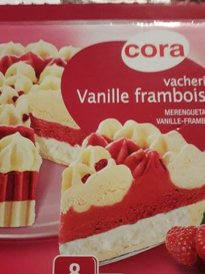Vacherin Vanille Framboise 1200 Millilitres - Ingrédients