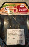 Saucisses blanche cora - Product - fr