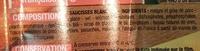 Saucisses blanches - Ingrédients