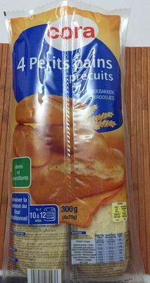 4 Petits Pains Précuits - Produit - fr