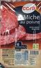 Miche au poivre (6 tranches) - Produit