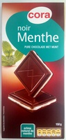 Chocolat noir menthe - Product - fr