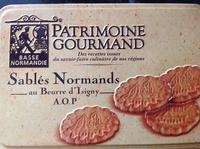 Sablés Normands au beurre d'Isigny AOP - Produit - fr