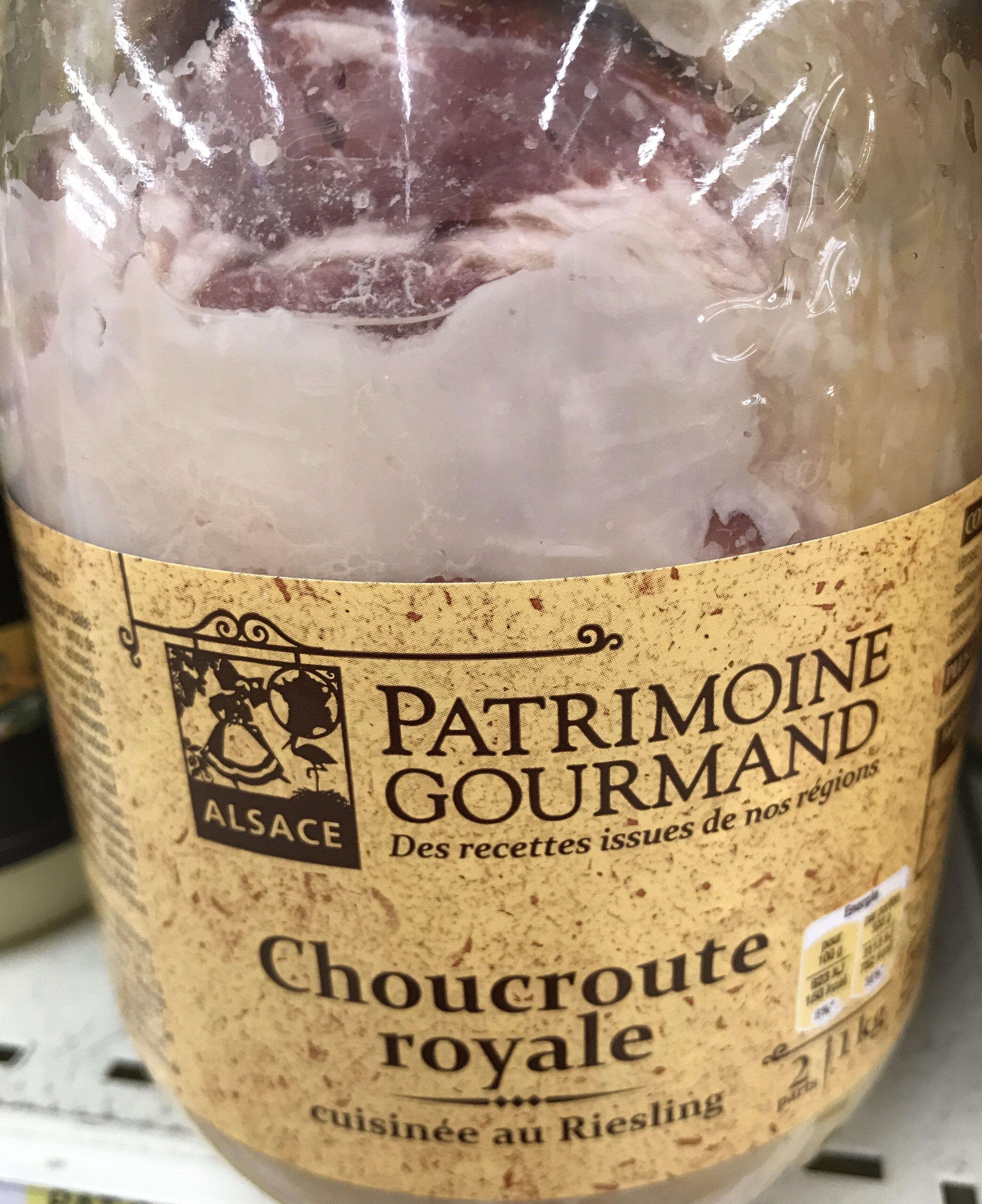 Choucroute Royale 1 Kilo - Produit - fr