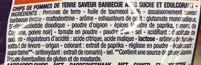Chips saveur Barbecue - Ingrédients - fr
