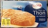 Filets de Thon au naturel - Produit