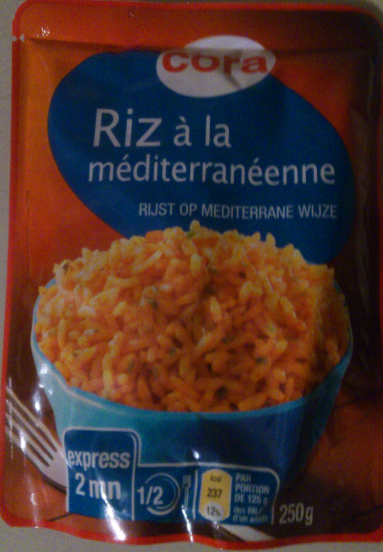 Riz à la méditerranéenne express - Produit