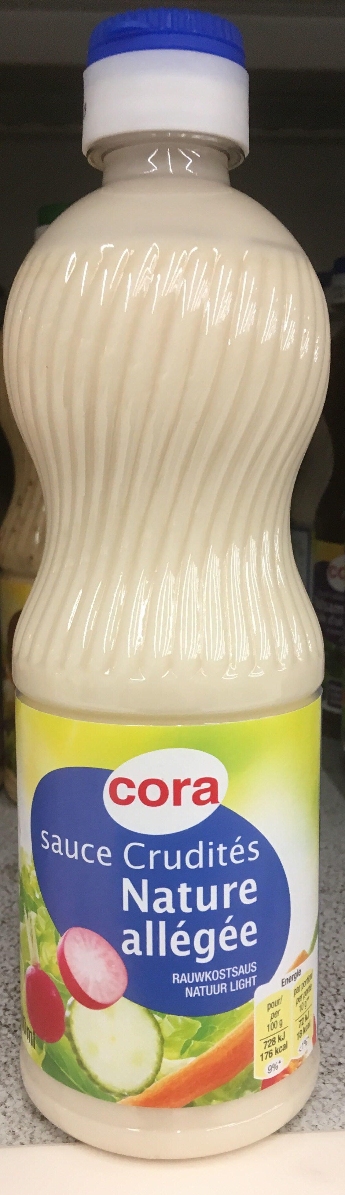 Sauce crudites nature allegee - Produit - fr