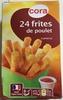 24 frites de poulet - Product