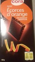 Chocolat noir écorces d'orange - Product