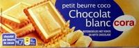 Petit beurre coco Chocolat blanc - Product - fr