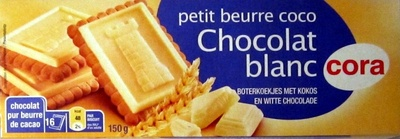 Petit beurre coco Chocolat blanc - Produit