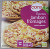 3 pizzas jambon fromages - Produit