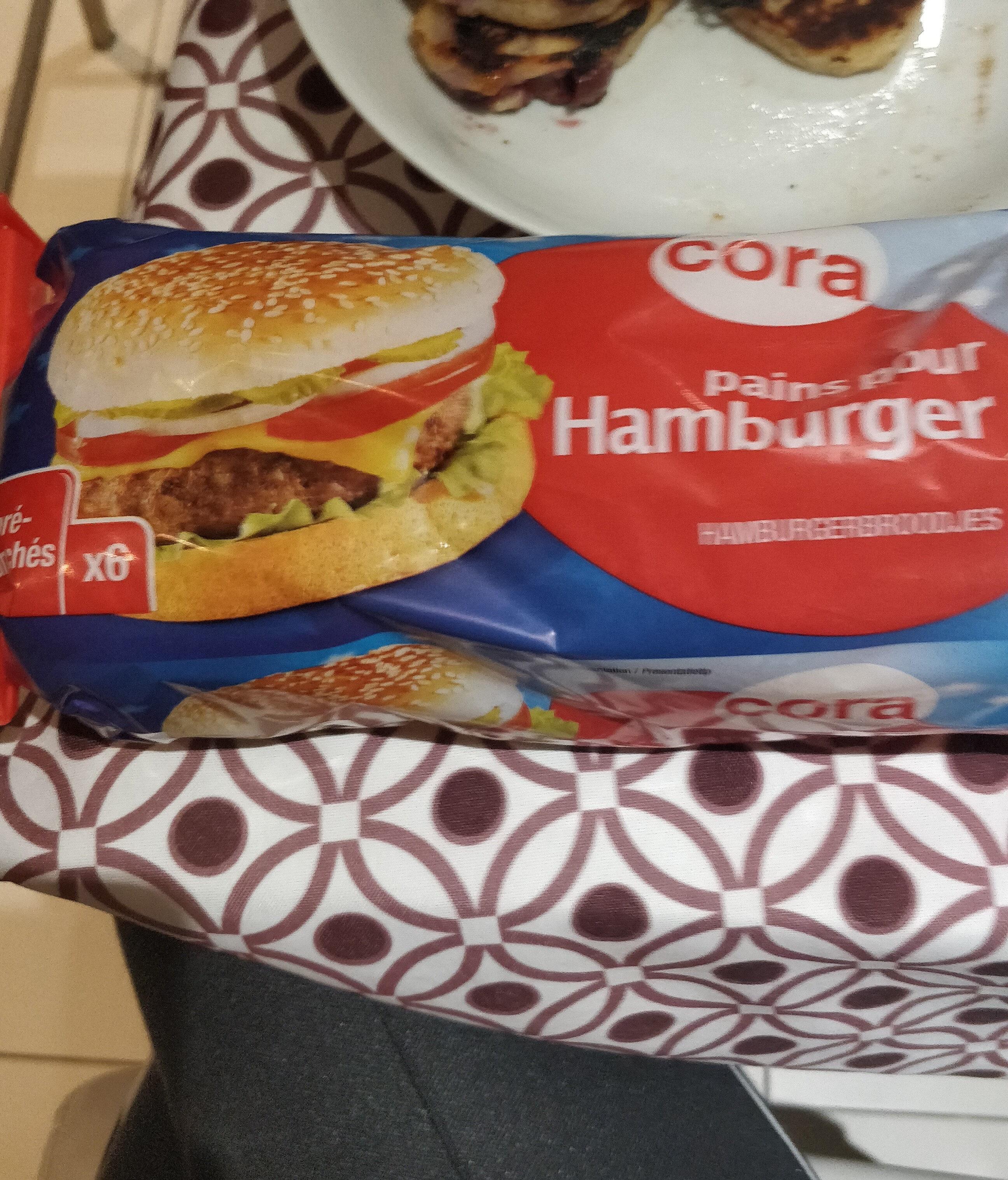 Pains pour Hamburger - Product - fr