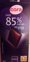 Noir Dégustation 85% - Product - fr