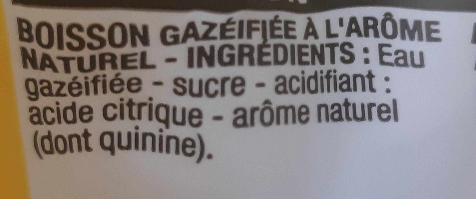 Tonic, 6 Bouteilles De 33 Centilitres, Marque Cora - Ingrédients - fr