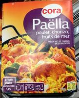 Paëlla Poulet, Chorizo, Fruits de mer, à l'huile d'olive vierge extra 1,4% - Produit - fr