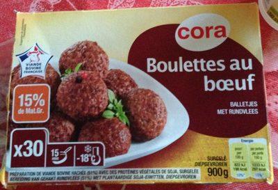 Boulettes au Boeuf - Produit
