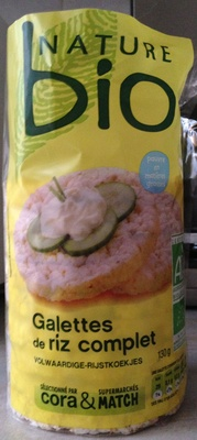 Galettes de riz complet - Produit - fr