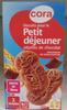 Biscuits pour le Petit déjeuner pépites de chocolat - Product