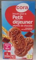 Biscuits pour le Petit déjeuner pépites de chocolat - Produit - fr