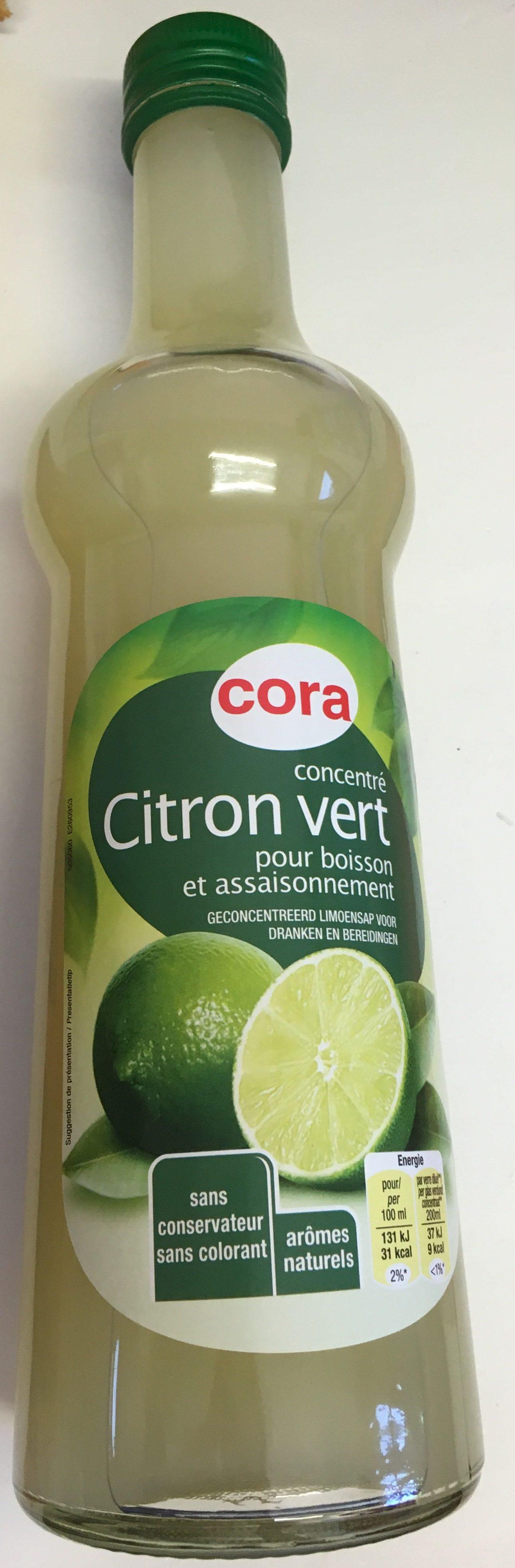 Concentré de Citron vert pour boisson et assaisonnement - Product