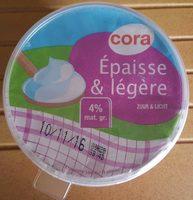 Crème Épaisse & légère - Produit - fr