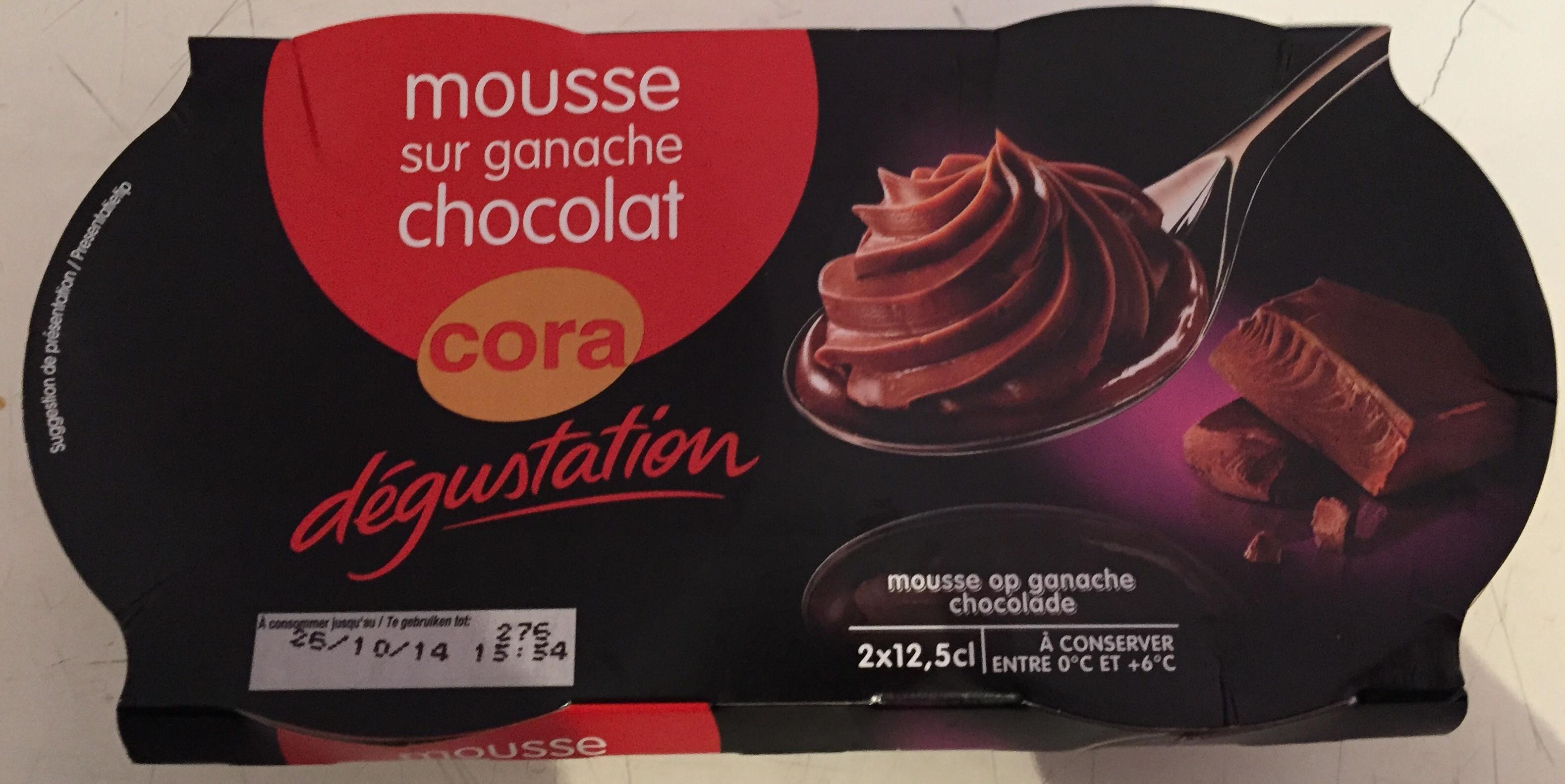 Mousse sur ganache chocolat - Product - fr