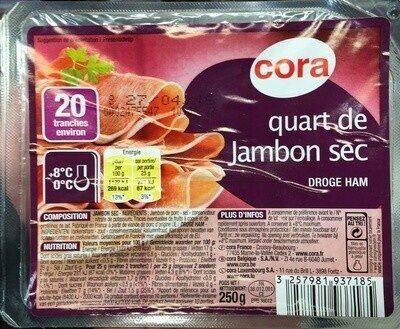 Quart de Jambon sec - Prodotto - fr