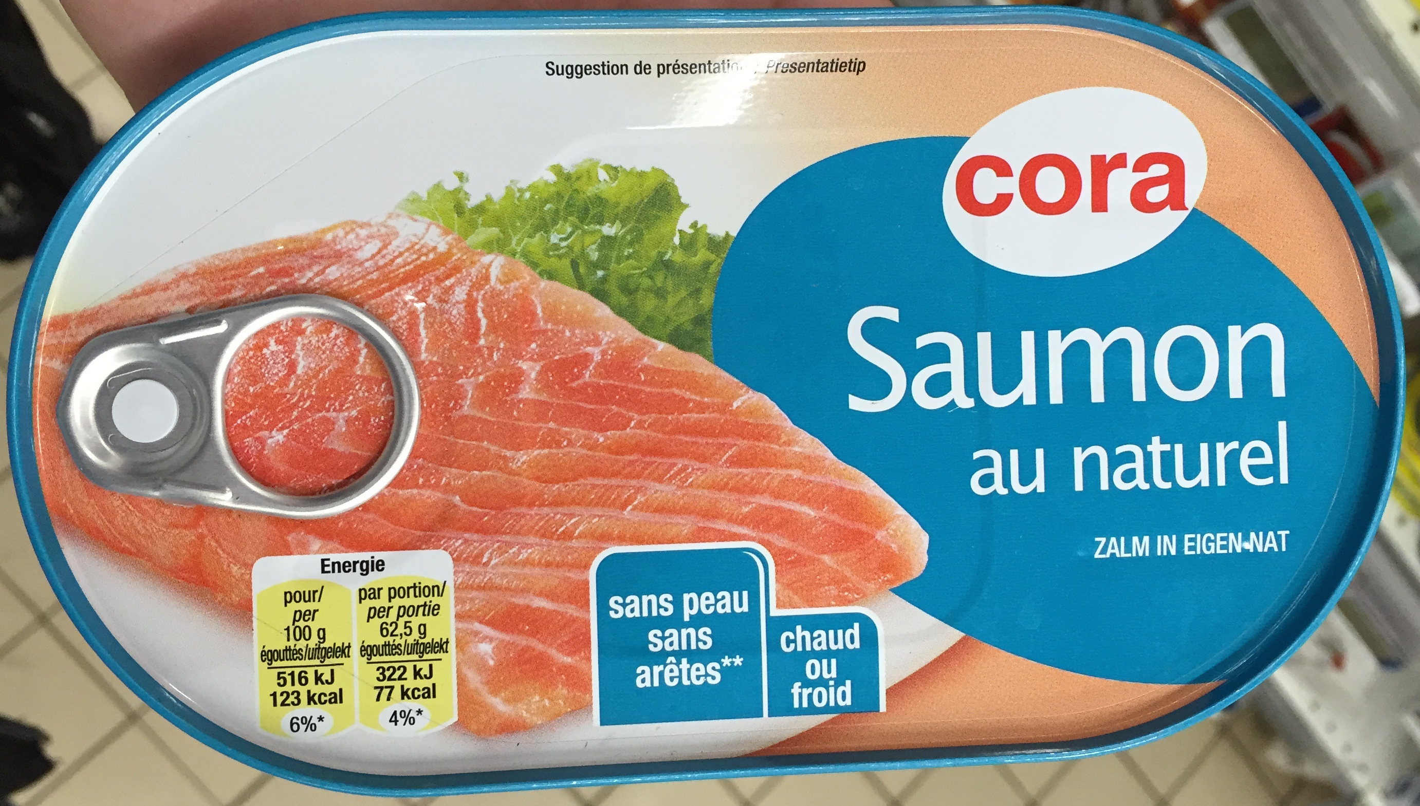 Saumon au naturel - Product