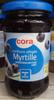 Confiture allégée Myrtille - Product