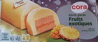 Bûche glacée fruits exotiques - Product