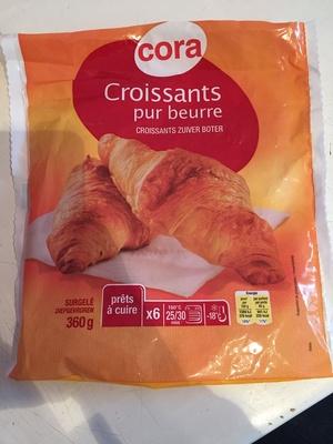 Croissants pur beurre surgelé - Product - fr