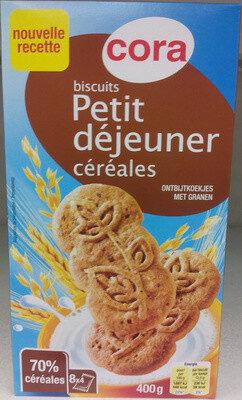 Biscuits Petit déjeuner céréales - Produit - fr