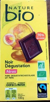 Noir dégustation Pérou - Produit
