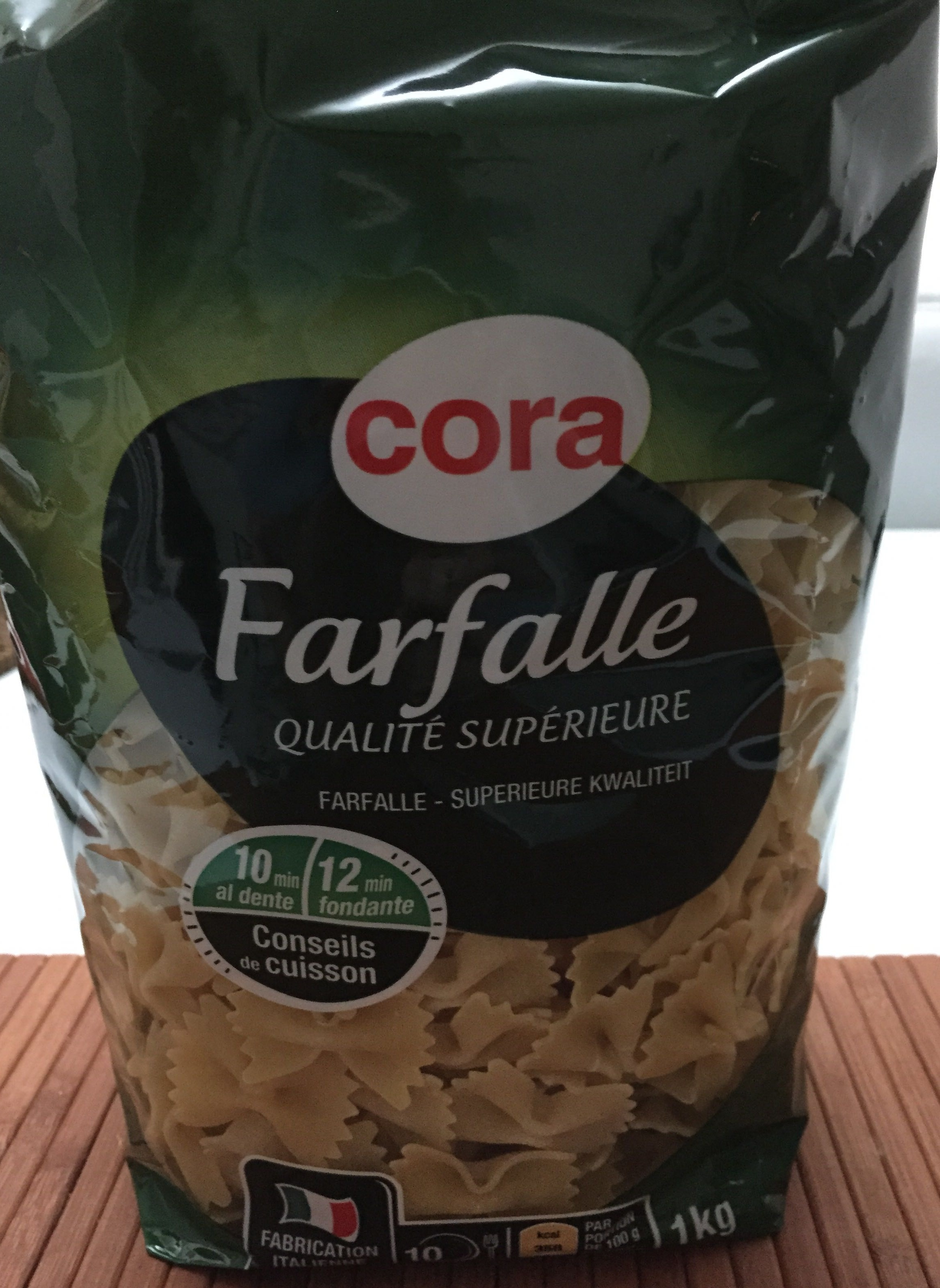 Farfalle (Qualité Supérieure) - Produit - fr