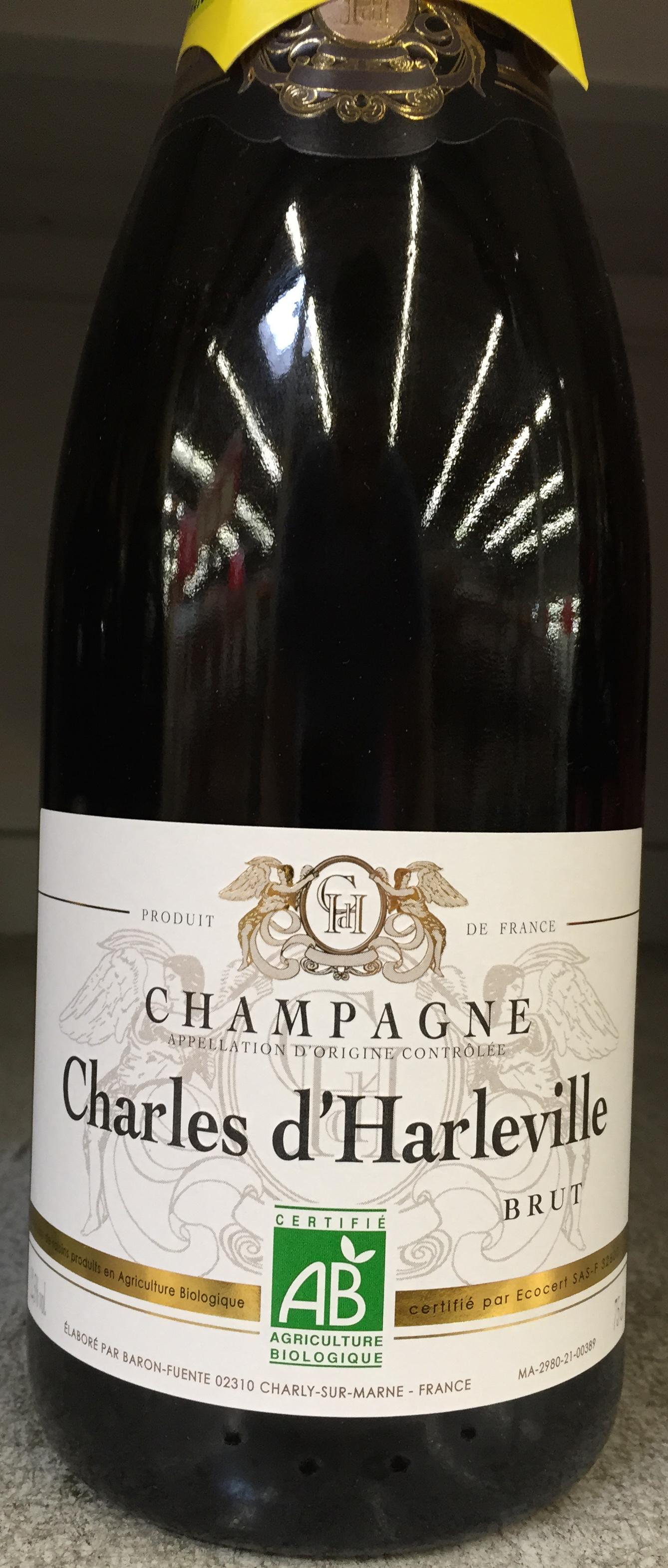 Champagne brut Bio - Produit - fr