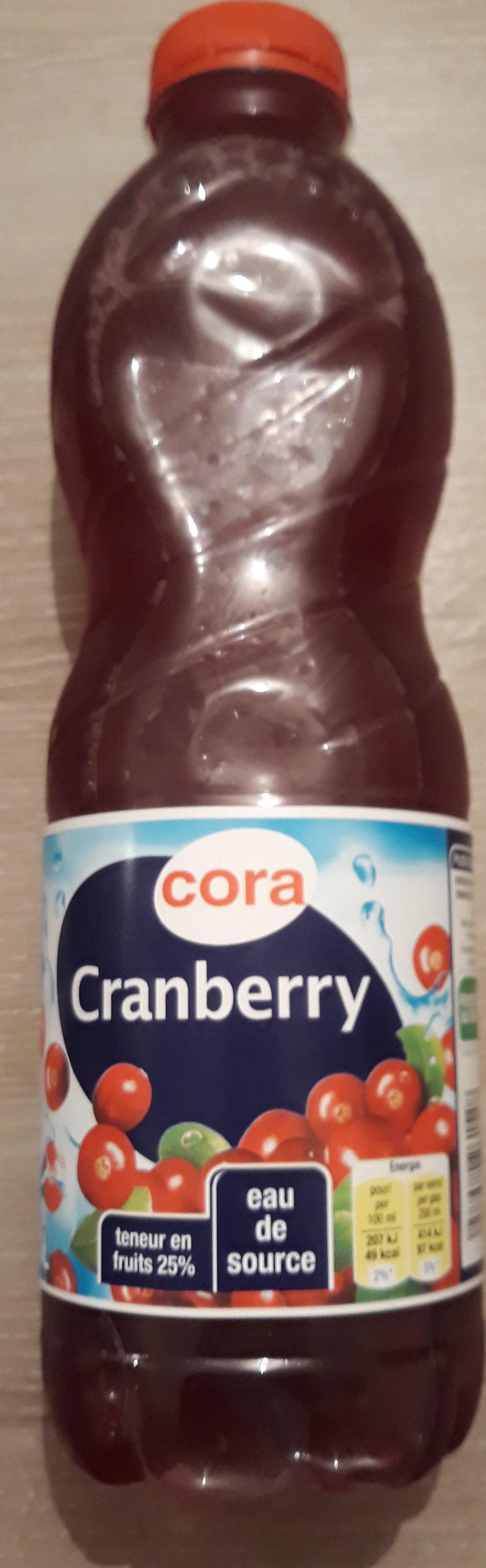 Jus de Cranberry - Produit - fr