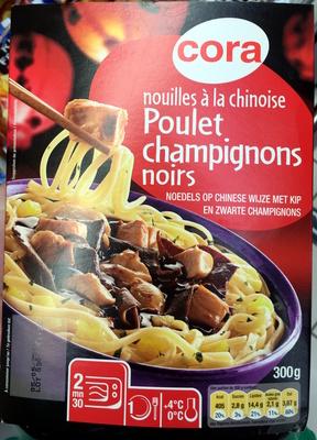 Nouilles à la chinoise Poulet Champignons noirs - Produit - fr