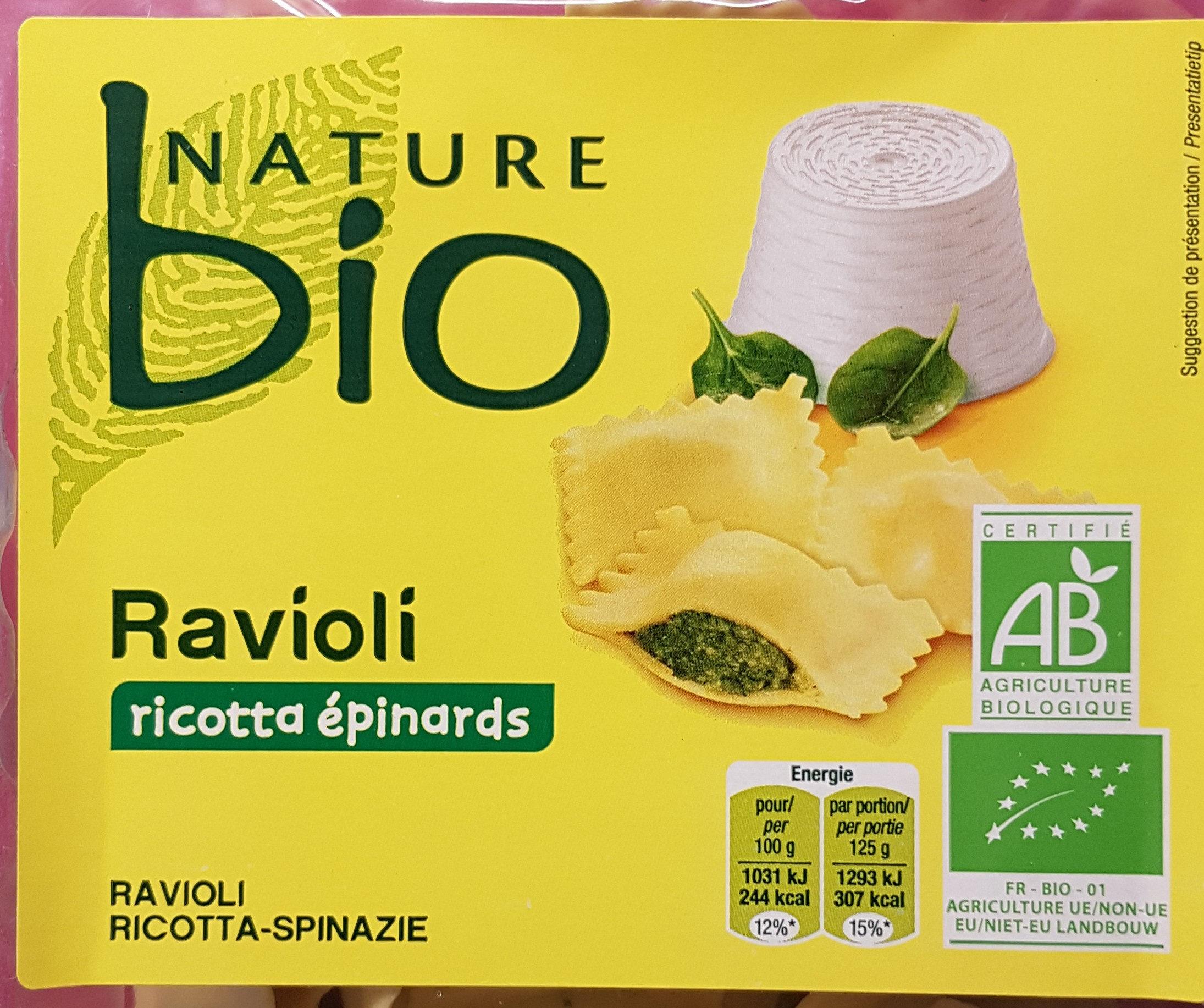 Ravioli Ricotta Epinards - Product - fr