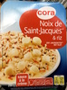 Noix de Saint-Jacques** & riz (sauce à la crème) - Produit