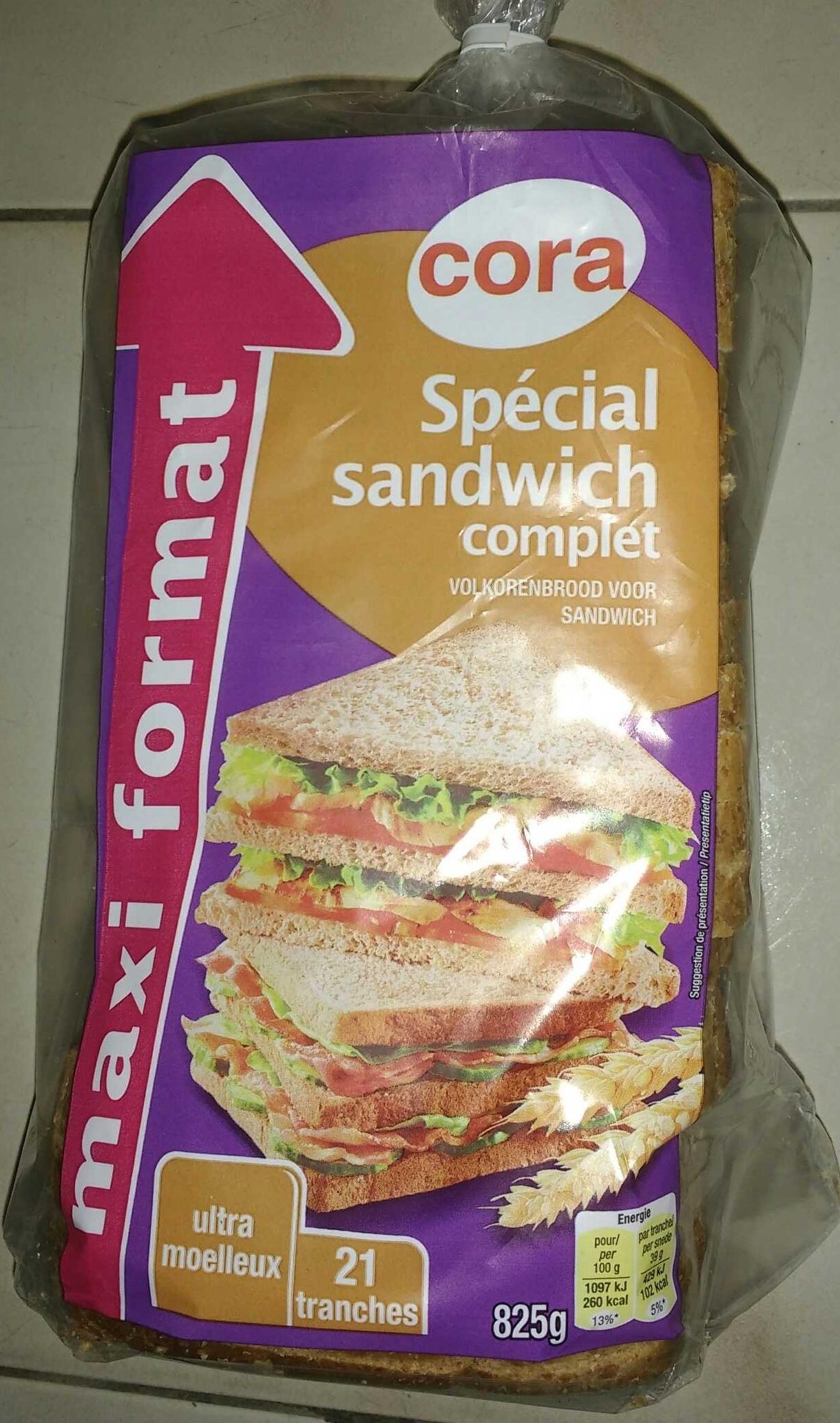 Spécial sandwich complet (maxi format) - Prodotto - fr