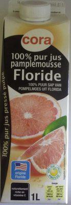 100% pur jus pamplemousse Floride - Product - fr