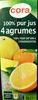 100 % pur jus 4 agrumes - Produit