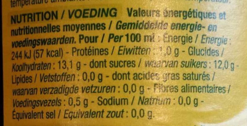 Vinaigre balsamique de mod ne nature bio 50 cl - Vinaigre balsamique calorie ...