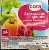 Sans sucres ajoutés Pomme Framboise - Produit